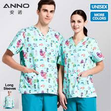 <b>ANNO Medical scrubs</b> Set Cartoon Nursing <b>Uniforms Medical</b> ...