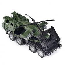 "Военный тягач ""<b>Щит"" с</b> вертолетом (<b>Нордпласт</b>)"