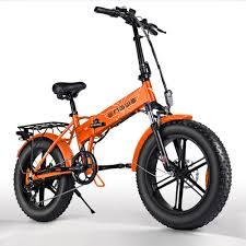 ENGWE 20 inch Fat Tire Electric Bicycle Mountain Beach Snow ...