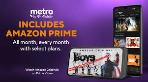 Amazon Prime - Movies, Music & <b>Free Shipping</b> | Metro® by T-Mobile
