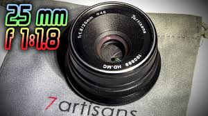 <b>7artisans 25mm f</b>/<b>1.8</b> micro 4/3 <b>объектив</b> с алиэкспресс - YouTube
