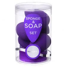 Manly PRO <b>Набор бьюти спонжей</b> (5 шт) + мыло для очистки ...
