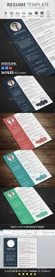 resume by graphicstoll graphicriver resume resumes stationery