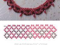 10+ Best Diy necklace patterns images in 2020   diy necklace ...