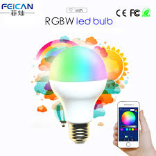 AC85 240V <b>5W 7W</b> 9W RGBW WIFI <b>LED Bulb Light</b> Colorful ...