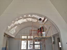 Ceiling Tiles For Kitchen Barrel Vaulted Kitchen Ceiling 3x6 Subway Tile Tile Jobs Weve