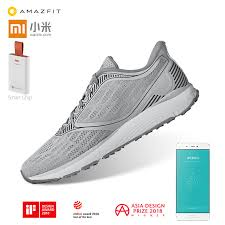 male woman Original Xiaomi Amazfit <b>Antelope Light Smart Shoes</b> ...
