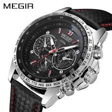 <b>MEGIR</b> Military Watch <b>Men Relogio Masculino</b> Fashion Luminous ...