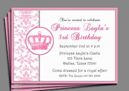 princess invitation template com extraordinary princess invitation template in modest birthday