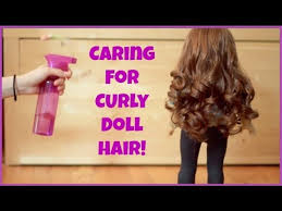Caring for your AG <b>Doll's Curly Hair</b>! - YouTube