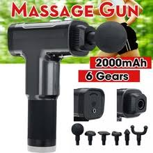 6 Files Electric Muscle Massager <b>Therapy Fascia</b> Massage Guns ...