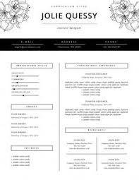 ideas about fashion resume on pinterest   fashion cv  cv    fashion resume template   cv by this paper fox on creative market