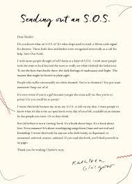 author pens powerful open letter about self harm harper collins letter glasgow