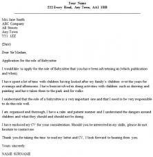 babysitter cover letter example icoverorguk cover letter for babysitting job