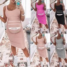 <b>2019 Pregnancy Dresses</b> Summer <b>Women</b> Sleeveless <b>Pregnant</b> ...