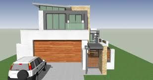 Narrow Block House Designs For Perth   Wishlist HomesNarrow Block House Designs With Skillion Roof In Mount Pleasant Perth