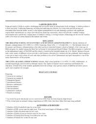 examples of resumes resume general career objective for job 89 appealing good examples of resumes