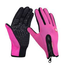 Cold Weather Fleece Windproof <b>Winter</b> Touch Screen Gloves for ...