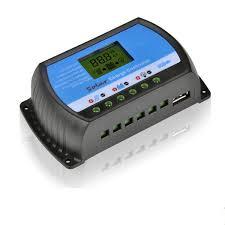 <b>PWM</b> 10A 20A <b>30A 40A Solar</b> Charge Controller 12V 24V LCD ...