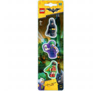 <b>Набор ластиков</b> 3 шт. <b>LEGO</b> Batman Movie Лего Фильм: Бэтмен ...