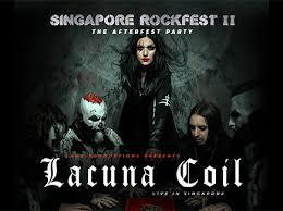 <b>Lacuna Coil</b> - Live in Singapore
