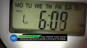 49809 Program Guide Defiant Indoor Digital <b>Timer</b> - YouTube