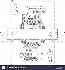 <b>poker king</b> of spades playing card banner design Stock Vector Art ...
