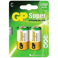 Купить <b>батарейки</b> алкалиновые <b>GP Super Alkaline</b> C (LR14) 14A ...