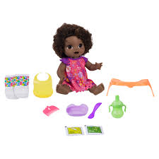 <b>Baby</b> Alive <b>Happy</b> Hungry <b>Baby</b> Black Curly Hair, 50+ Sounds, Eats ...