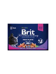 <b>Brit Premium Cat</b> Pouches Fish Plate – Brit