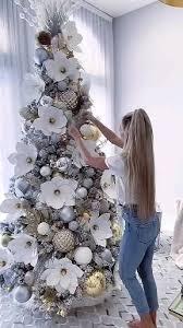 GL-Turelfies <b>12 Pcs</b> Glitter <b>Christmas</b> Flowers(16cm/6.3'')…