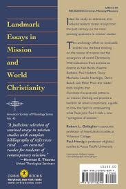 landmark essays in mission and world christianity robert l landmark essays in mission and world christianity robert l gallagher paul hertig 9781570758294 amazon com books