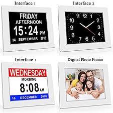 Digital Alarm Clock With Wireless <b>Remote</b>, Heqiao <b>Extra Large</b> ...