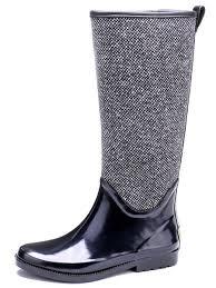 <b>EXCARGO</b> Woman <b>Rain Boots High</b> Waterproof 2019 Spring ...