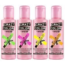Полуперманентная <b>краска для волос</b> Crazy Color <b>Semi</b> ...