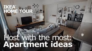 A <b>Creative</b> & Entertaining <b>Living Room</b> Makeover - IKEA <b>Home</b> Tour ...