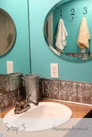 sagging tin ceiling tiles bathroom:  images about backsplash on pinterest turquoise glasses and metals