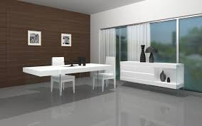 Modern White Dining Room Set Modern White Dining Table Modloft Astor Dining Table In White