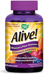 Nature's Way <b>Alive</b>! Women's <b>Gummies Multivitamin</b>, No Gelatin ...