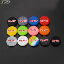 <b>JCD 2pcs</b> Multicolor Aluminum <b>Analog</b> Thumb Joystick Caps for ...
