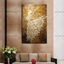 Abstract Oil painting <b>100</b>% <b>Handpainted High Quality</b> Frameless ...