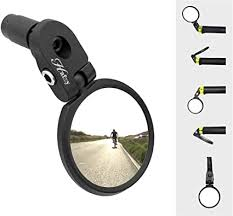 Hafny Bar End <b>Bike Mirror</b>, <b>Stainless Steel</b> Lens, HF-MR083 ...