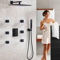 Blackened <b>Bathroom Shower</b> Sets