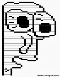 Milk Face Meme Copy Paste Text Art | Cool ASCII Text Art 4 U via Relatably.com