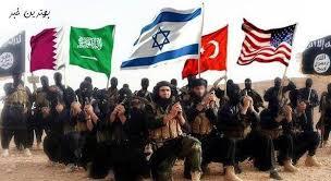Image result for (ایالات متحده، صهیونیسم و محافظهکاران عرب) داعش
