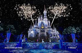 Image result for THEME PARK a magic castle de de noche