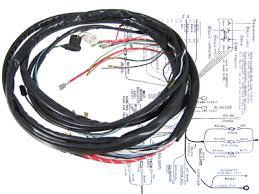 vw super beetle wiring harnesses vw parts jbugs com Super Beetle Wiring Harness vw main wiring loom kit, super beetle sedan & convertible 1973 vw super beetle wiring harness