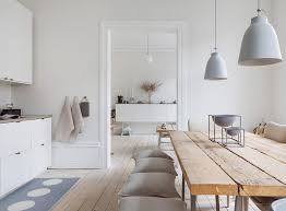 〚 White apartment with interesting rustic <b>decor</b> in Malmo 〛 Фото ...