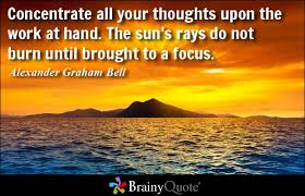 Focus Quotes - BrainyQuote via Relatably.com