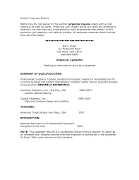 carpenter resume examples template carpenter resume examples